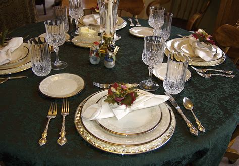 how to set a table with china formal table settings shirley buxton