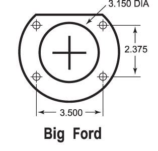 less pattern exles bolt on 9 quot ford 11 quot rear disc brake kit 9 inch big