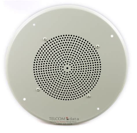 bogen ceiling speakers bogen ceiling speaker w recessed volume on a white grille