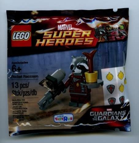 Lego Polybag Guardians Of The Galaxy Rocket Racoon Exclusive lego guardians of the galaxy rocket raccoon polybag 5002145