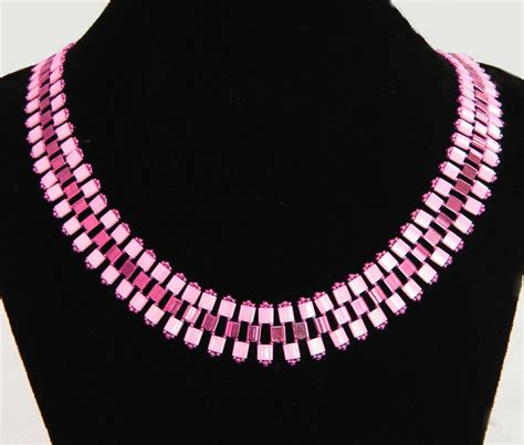 Free Seed Bead Patterns Tila Necklace