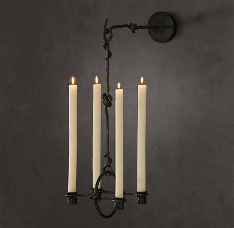 Restoration Hardware Wall Sconces 19th C Belgian Candle Sconce Thestylecure Oh Wow Hardware Sconces And