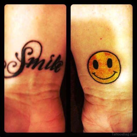 smile wrist tattoo 24 wonderful smile wrist tattoos