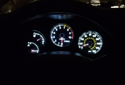 toyota supra gauge cluster led guys