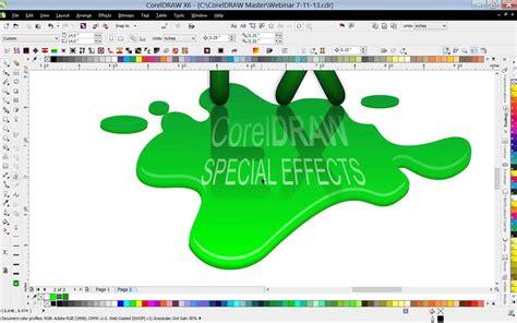 Corel Draw X7 Effects | using special effects in coreldraw 174 youtube