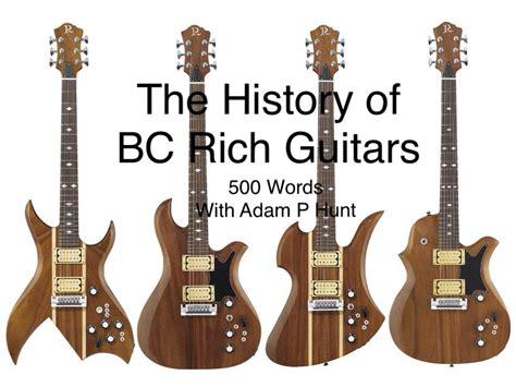 Kaos B C Rich Guitars A bc rich guitars 500 words with adam p hunt guitar radio