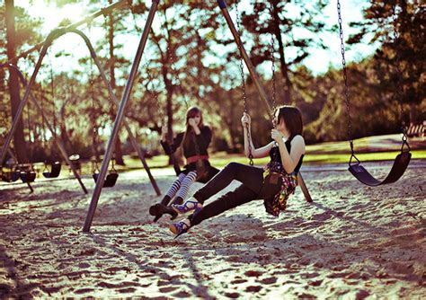 swinging with friends video fashion friends girlfriends girls photography swing