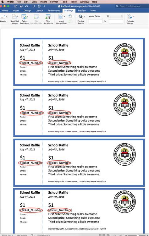 free printable raffle ticket template sample raffle ticket free