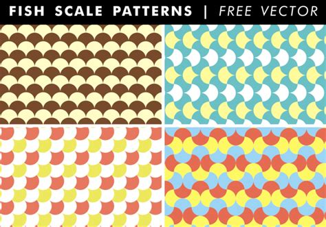ai pattern scale fish scale patterns free vector download free vector art