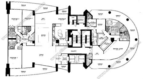 santa brickell floor plans santa brickell condos for sale rent floor plans