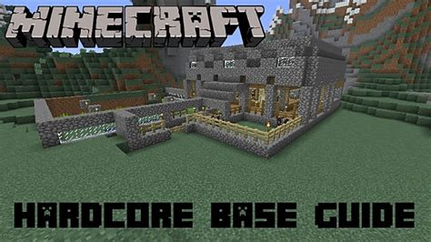 Ultimate House Plans 9 essential base building tips for minecraft hardcore that