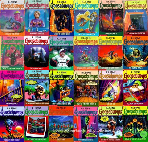 list of goosebumps books with pictures golden age 4 books we loved volume 1 goosebumps