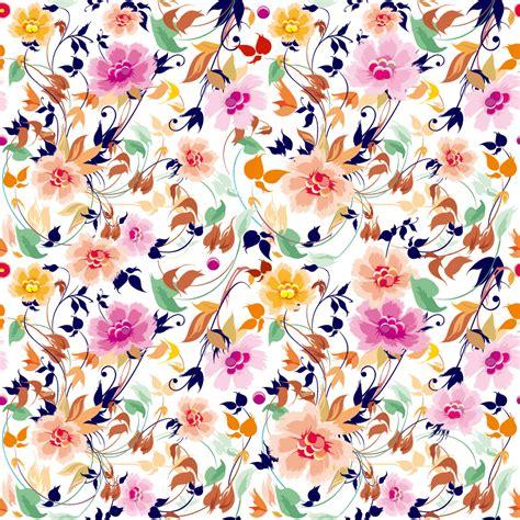 pattern flower vector free download シームレスな美しい花柄パターンの背景 flowers seamless pattern element vector