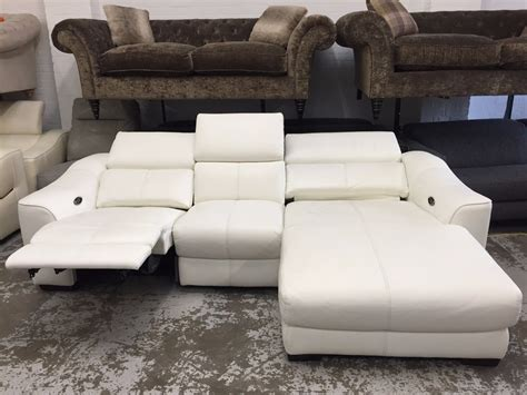 ex display elixir electric 3 seater chaise sofa