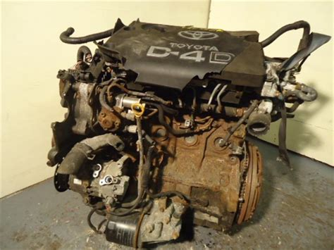 Toyota 2l Diesel Engine Parts 2005 Toyota Avensis 2l Manual Diesel Engine Used And Spare