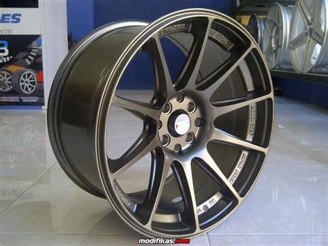 Velg Mobil Model Precision 17x75 4x100 114 45 Matte Black baru xxr 527 17x75 9 4x100 4x114 3 et 40 30