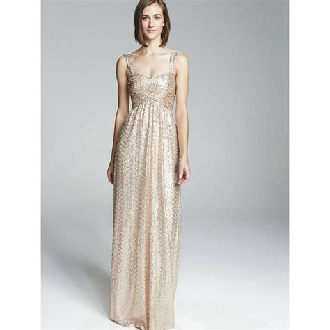 Gold Bridesmaid Dress by Buy Wholesale Gold Sequin Bridesmaid Dress From