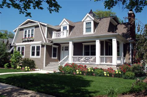 colonial remodel traditional exterior chicago