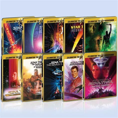 firzara collection firzara collection 1st anniversary sale star trek limited edition steelbook collection blu ray