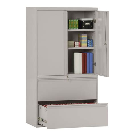 Gardex 4 drawer fire resistant lateral file cabinet