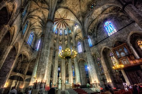 catedral del mar cathedral santa maria del mar church in barcelona thousand wonders