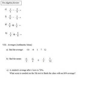 math plane pre algebra review 1