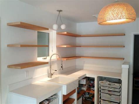 handmade bracketless shelves by spenchcraft custommade