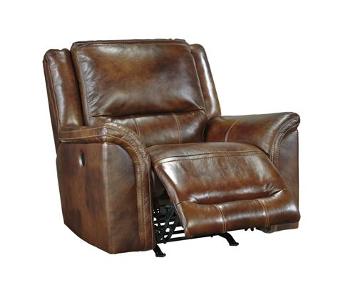 leather chairs recliners jayron harness rocker recliner u7660025 leather