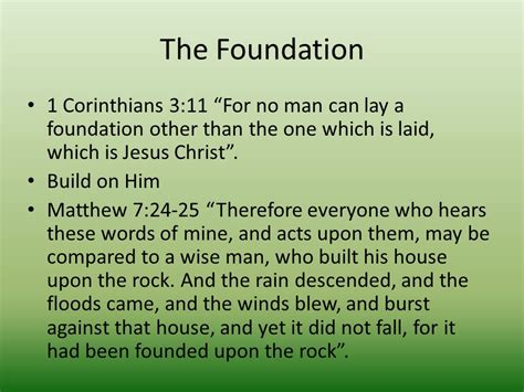 the wise man built his house upon the rock music jesus is what does the bible say ppt video online download