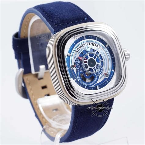 Jual Jam Lv Blue Leather Clone gambar jam tangan sevenfriday yacht club blue limited p3