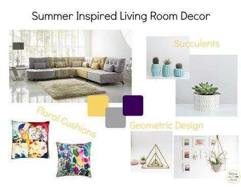 summer living room decor summer inspired living room decor soul