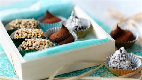 Handmade Truffles Recipe - food recipes