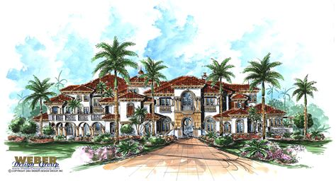 mediterranean beach house plans mediterranean house plan bellagio house plan weber