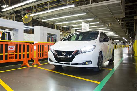 Nissan Tennessee by 2018 Nissan Leaf Production Kicks In Tennessee