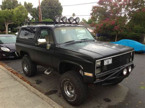 K5 Blazer Roof Rack by Chevy K5 Roof Rack Autos Post