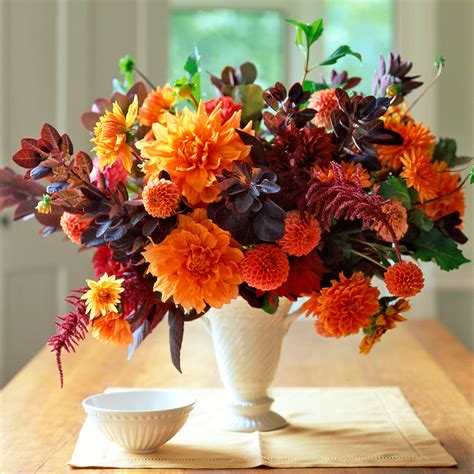 flower arranging orange flower arrangements martha stewart
