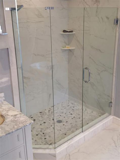 Custom Glass Shower Doors Cost Custom Glass Shower Doors Bryn Mawr Glass Mirror
