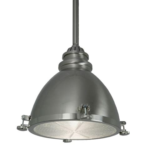 Dome Pendant Ceiling Light Home Decorators Collection 1 Light Brushed Nickel Ceiling Metal Dome Pendant 25397 71 The Home