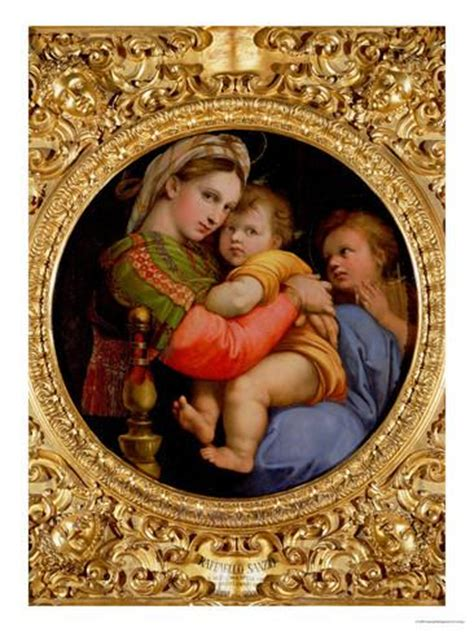 Madonna Of The Chair the madonna of the chair giclee print by raphael at allposters