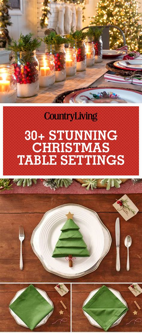 best place to get christmas table 45 best table settings decorations and centerpiece ideas for your table