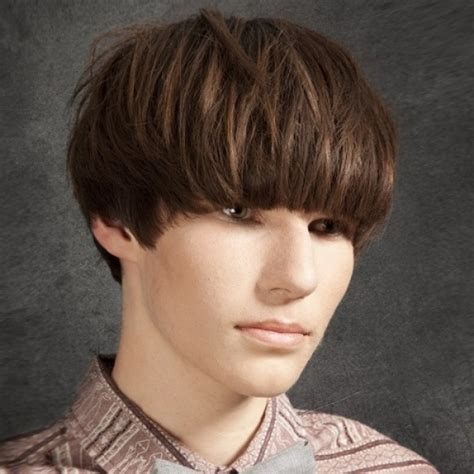 bowl over the head hair style top great hairstyles for men with thick hair