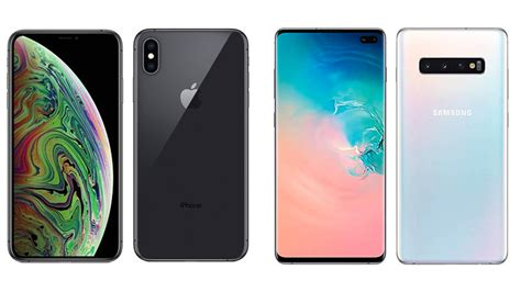 apple iphone xs max vs galaxy s10 one of these smartphones wins in three key categories