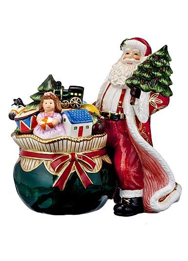 waterford holiday heirlooms nostalgic collection waterford 2016 heirloom nostalgic collection santa s delivery cookie jar