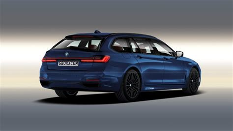 bmw facelift 5er 2020 bmw 7 series lci gets rendered in wagon guise