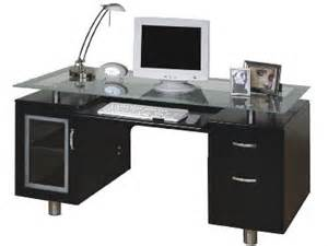 Black Computer Desk Australia Executive Desk From Harvey Norman With Glass