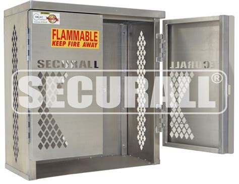 securall 174 cylinder tank storage cabinets propane gas