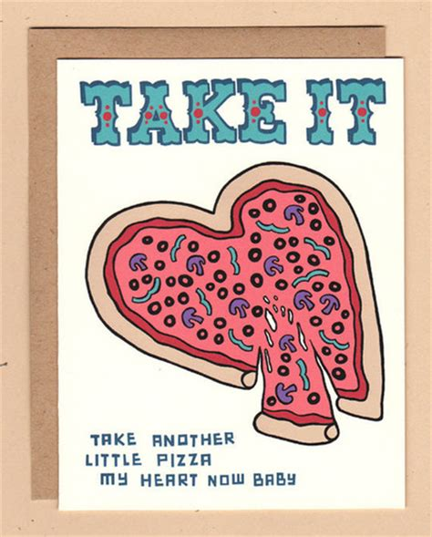 Pizza Valentines Card Template by Take Another Pizza My S Day Cards