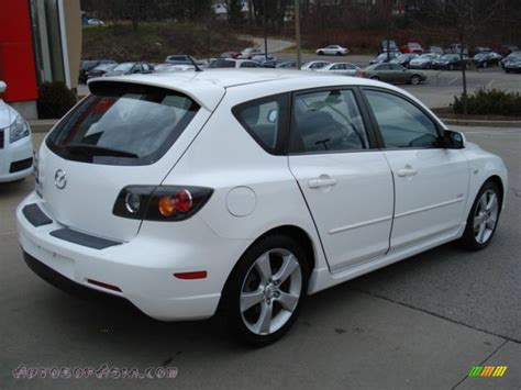 mazda 3 2005 hatchback 2005 mazda mazda3 s hatchback in rally white photo 6