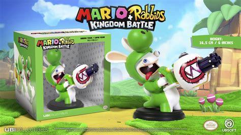 mario rabbids kingdom battle will utilize figures but not amiibo