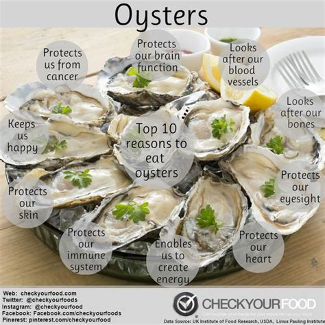 Oyster Health 30 best images about health benefits on dr oz the benefits and health